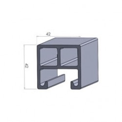 Alphastrut aluminium support system - Section AC-01.